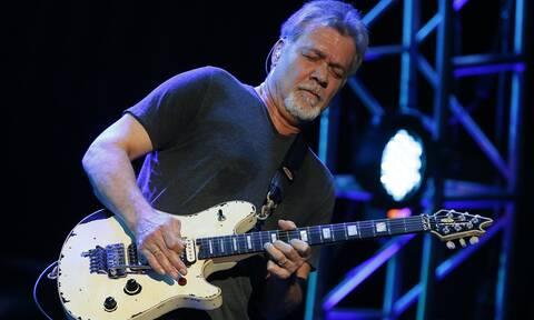 Πέθανε ο κιθαρίστας Eddie Van Halen (pics+vids)