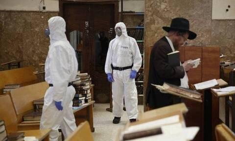 Κορονοϊός στο Ισραήλ: 40 θάνατοι και  4.717 κρούσματα σε 24 ώρες