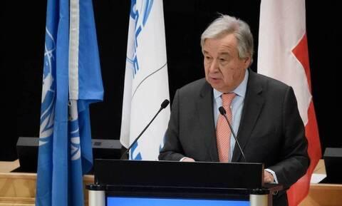 ΟΗΕ: Ανησυχία Γκουτέρες για το άνοιγμα της παραλίας της Αμμοχώστου από την Τουρκία