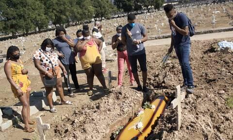 Κορονοϊός στη Βραζιλία: 819 θάνατοι και σχεδόν 42.000 κρούσματα σε 24 ώρες
