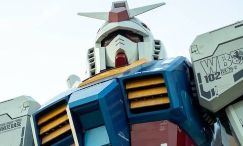 Guntam: Το ρομπότ 18 μέτρων που δημιούργησαν οι Ιάπωνες (video)