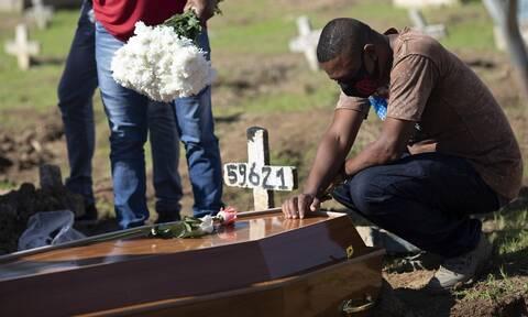 Κορονοϊός στη Βραζιλία: Πάνω από 5 εκατομμύρια τα κρούσματα - Στους 148.228 οι νεκροί