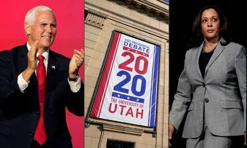 Εκλογές ΗΠΑ: Δείτε LIVE και στα ελληνικά το ντιμπέιτ των δύο υποψήφιων αντιπροέδρων