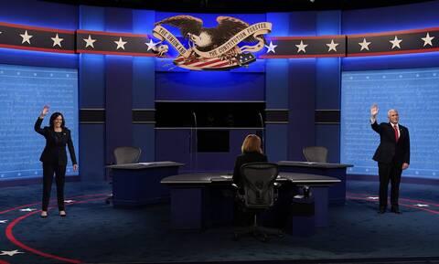 Αμερικανικές εκλογές: Σε χαμηλούς τόνους το ντιμπέιτ των αντιπροέδρων μεταξύ Χάρις και Πενς