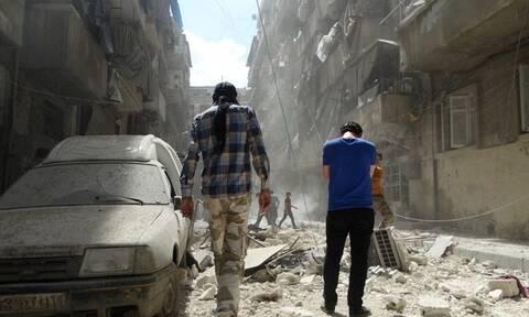 Συρία: Ισχυρή έκρηξη στη Ντεράα