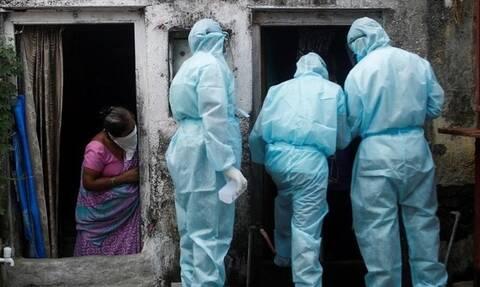 Τα κρούσματα μόλυνσης έφθασαν τα 6,84 εκατ. ενώ οι νεκροί ξεπέρασαν τους 105.000