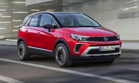 H Opel ανανεώνει το Crossland υιοθετώντας στοιχεία από το ολοκαίνουργιο Mokka