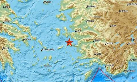 Σεισμός ΤΩΡΑ κοντά στη Σάμο - Αισθητός στο νησί (pics)