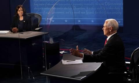 Εκλογές ΗΠΑ: Σχεδόν 58 εκατ. τηλεθεατές παρακολούθησαν το ντιμπέιτ Πενς - Χάρις