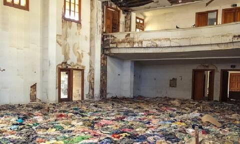 Αμμόχωστος - Συγκλονιστικές εικόνες: Πλιάτσικο και εγκατάλειψη στο Λύκειο Ελληνίδων