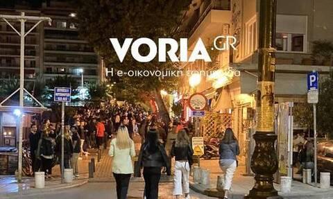 Θεσσαλονίκη: Συνωστισμός, σκουπίδια και ναρκωτικά στην πλατεία της αρχαίας αγοράς (pics)