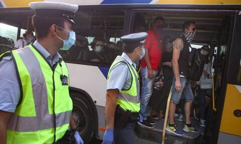 Κορονοϊός: Σαρωτικοί οι έλεγχοι των Αρχών - «Έπεσαν» 20.000 πρόστιμα από τον Αύγουστο