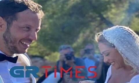 Γάμος Ζουγανέλη - Δημητρίου: Δείτε τις πρώτες φωτογραφίες από το μυστήριο (pics)