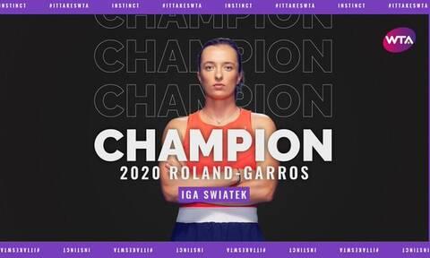 Roland Garros: Βασίλισσα στο Παρίσι η 19χρονη Ίγκα Σβιάτεκ (videos+photos)