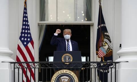 Κορονοϊός - Ο γιατρός του Τραμπ αποκαλύπτει:  Δεν θεωρείται επικίνδυνος να μεταδώσει τον ιό