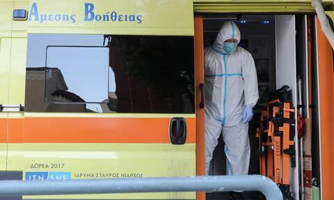 Κορονοϊός: Πέντε νεκροί τις τελευταίες ώρες - Περισσότεροι από ποτέ οι διασωληνωμένοι