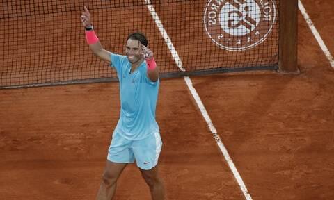 Τζόκοβιτς-Ναδάλ 0-3: Ο αυτοκράτορας του Roland Garros είναι Ισπανός!