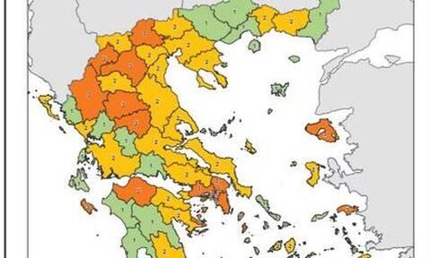 Κορονοϊός - Χάρτης υγειονομικής ασφάλειας: Αυτά μέτρα που ισχύουν για όλες τις περιοχές