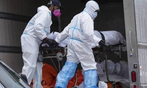 ΗΠΑ: Εφιαλτικός αριθμός - Τα CDC αναφέρουν 213.614 θανάτους από κορονοϊό