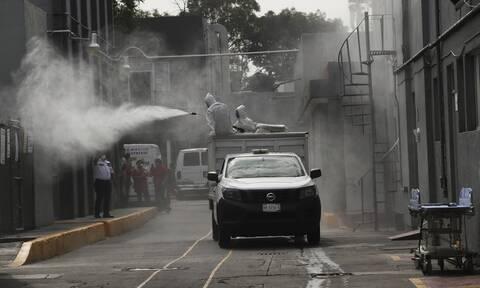 Κορονοϊός στο Μεξικό: Σχεδόν 84.000 οι θάνατοι - Πάνω από 817.000 τα κρούσματα