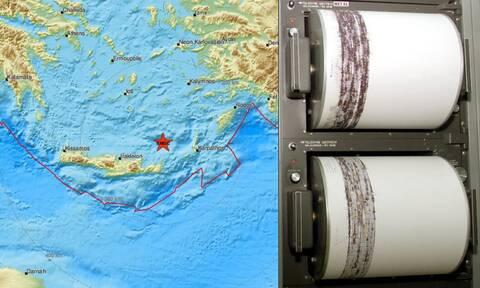 Στο «χορό» των Ρίχτερ η Κρήτη - Εννέα σεισμοί μέσα σε λίγες ώρες