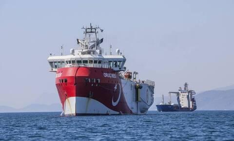 Oruc Reis: Η Τουρκία κλιμακώνει την ένταση - Βγάζει το πλοίο για έρευνες κοντά στο Καστελόριζο