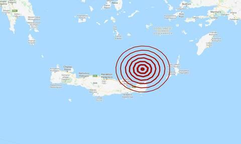 Έκτακτη είδηση: Σεισμός ΤΩΡΑ στην Κρήτη