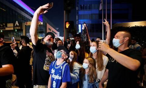 NBA: Ποιος κορονοϊός; Όλο το Λος Άντζελες στους δρόμους για τους Λέικερς (photos)