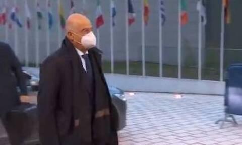 Στο Λουξεμβούργο για το Συμβούλιο Εξωτερικών Υποθέσεων ο Δένδιας