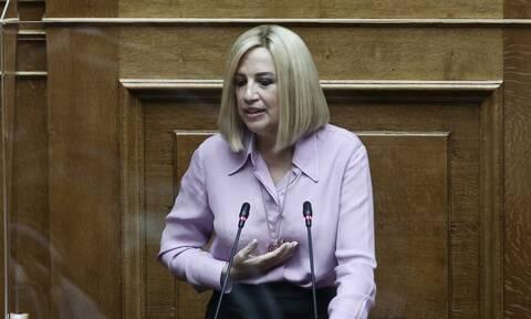 10 χρόνια Newsbomb.gr: Οι ευχές της προέδρου του Κινήματος Αλλαγής, Φώφης Γεννηματά