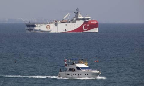 Oruc Reis: Συναγερμός για τρίτη φορά στις Ένοπλες Δυνάμεις - Σε ελληνική υφαλοκρηπίδα το ερευνητικό