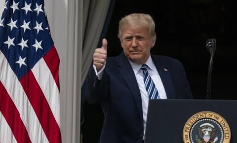 Αρνητικός στον κορονοϊό ο Ντόναλντ Τραμπ - «Δεν υπάρχει κίνδυνος» να τον μεταδώσει