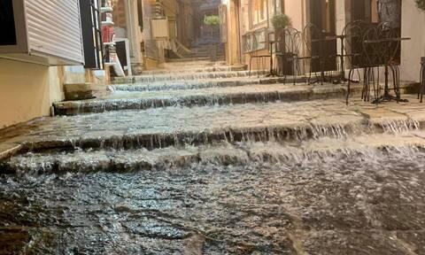 Κακοκαιρία: Σάρωσε το Ιόνιο - Πλημμύρες σε Κέρκυρα, Κεφαλονιά
