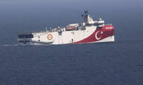 Oruc Reis: Δείτε πού είναι το τουρκικό ερευνητικό - Πλέει ανοιχτά του Καστελόριζου