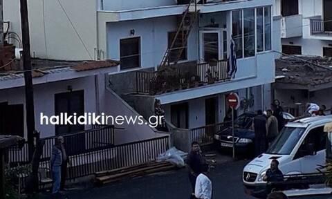 Κακοκαιρία - Χαλκιδική: Ανεμοστρόβιλος... σάρωσε τον Νέο Μαρμαρά (pics)