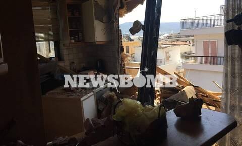 Ρεπορτάζ Newsbomb.gr – Νέο Ηράκλειο: Αυτό είναι το σπίτι που γκρεμίστηκε και τραυμάτισε την 65χρονη