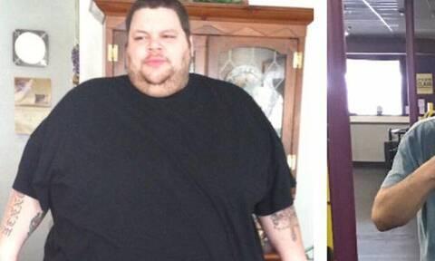 Τεράστια αλλαγή: Κάποτε ζύγιζε 320 κιλά!