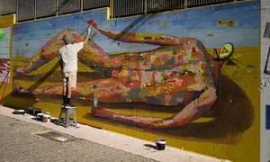 Street Art στην Αθήνα: Πέντε καλλιτέχνες δίνουν χρώμα στην πόλη (pics)
