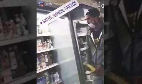 Σάμος: Συνελήφθησαν οι μετανάστες για το προκλητικό βίντεο σε supermarket της πόλης