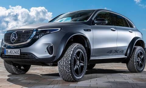 Ποιος είπε πως τα ηλεκτρικά SUV δεν μπορούν να γίνουν άγρια; Όχι πάντως η Mercedes