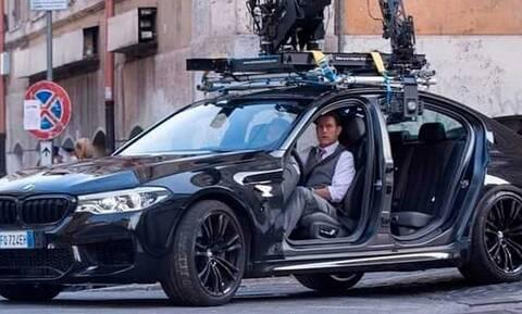 Δείτε τον Tομ Κρουζ σε μία BMW χωρίς πόρτες στο γύρισμα του Mission Impossible