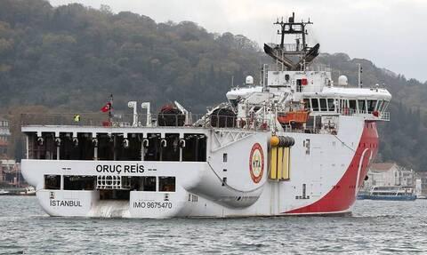 Греция вновь призвала Турцию отозвать исследовательское судно Oruc Reis из Средиземноморья