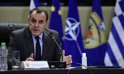 Nat'l Defense Min. Panagiotopoulos meets with visiting US Asst. Sec'y Cooper