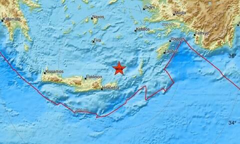 Σεισμός κοντά στην Κρήτη (pics)