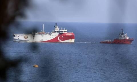 Oruc Reis: Συνεχίζει τα παιχνίδια η Τουρκία - Κλειστός ο πομπός του πλοίου