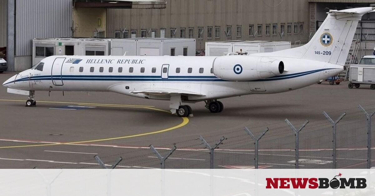 facebookEmbraer ERJ 135LR Greece   Air Force