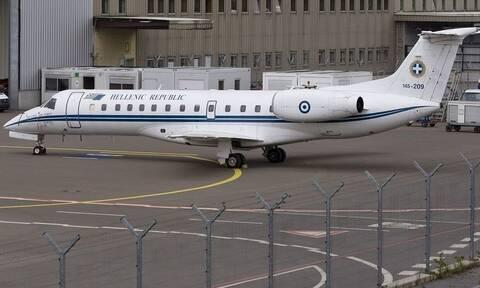 Περιπέτεια για το κυβερνητικό αεροσκάφος: Μηχανική βλάβη κατά την άφιξη στο Ιράκ