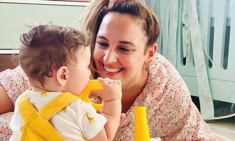 Κλέλια Πανταζή: Δείτε πώς φωτογράφησε τον γιο και τον σύζυγό της