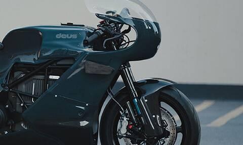 Αυτή η μοτοσικλέτα δεν είναι σαν τις άλλες
