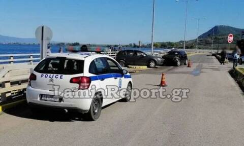 Φθιώτιδα: Σοβαρό τροχαίο με τρεις τραυματίες στην παλιά εθνική